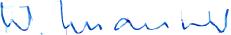 Signature de Walter Maurer, directeur général de Waterjet AG, spécialiste de la découpe par jet d'eau (waterjet cutting et micro waterjet cutting)